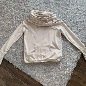 Lululemon gathered neck hoodie